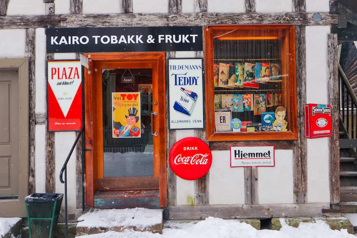 Norwegian Museum of Cultural History Store Coca Cola - Oslo en Invierno