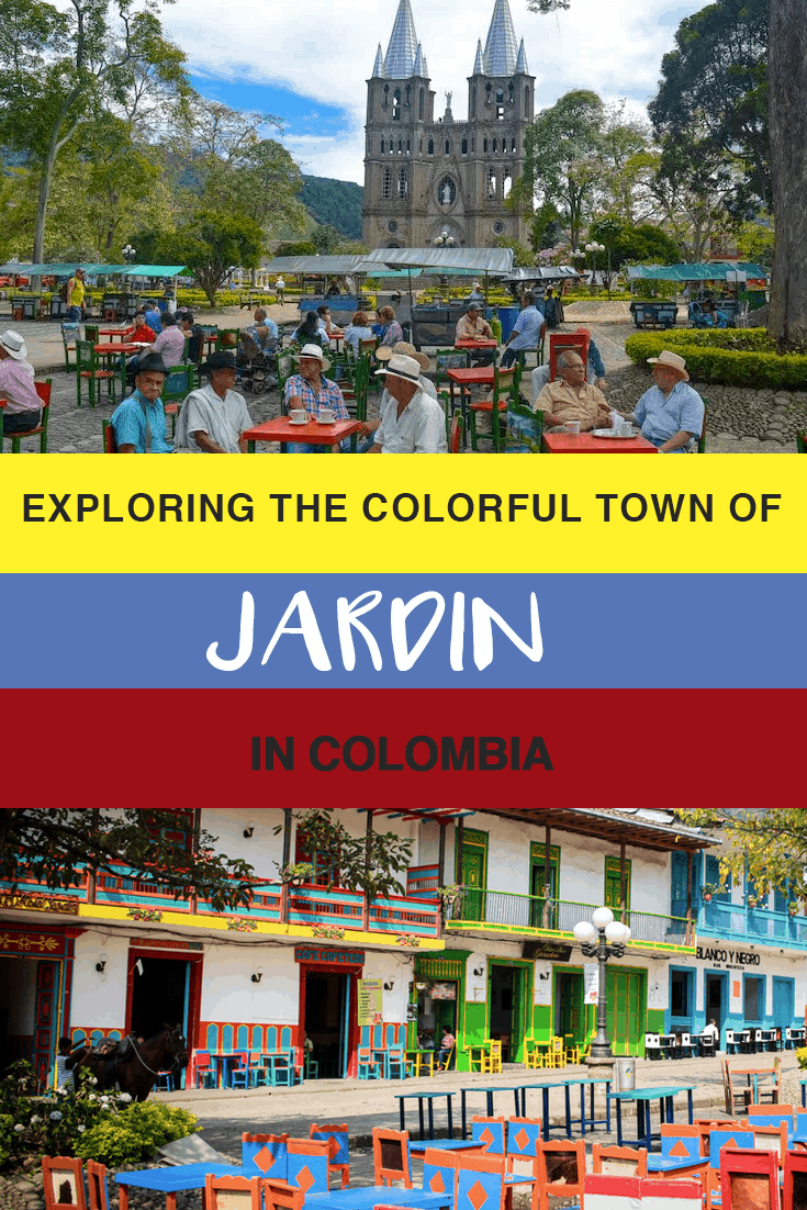 A visitors guide for a weekend getaway in the pretty pueblo of Jardin, Colombia, including places to eat and stay and what to do while you are there.