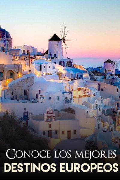 Los mejores destinos europeos para visitar este 2019