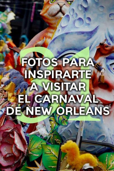 31 fotos para inspirarte a visitar el carnaval de New Orleans