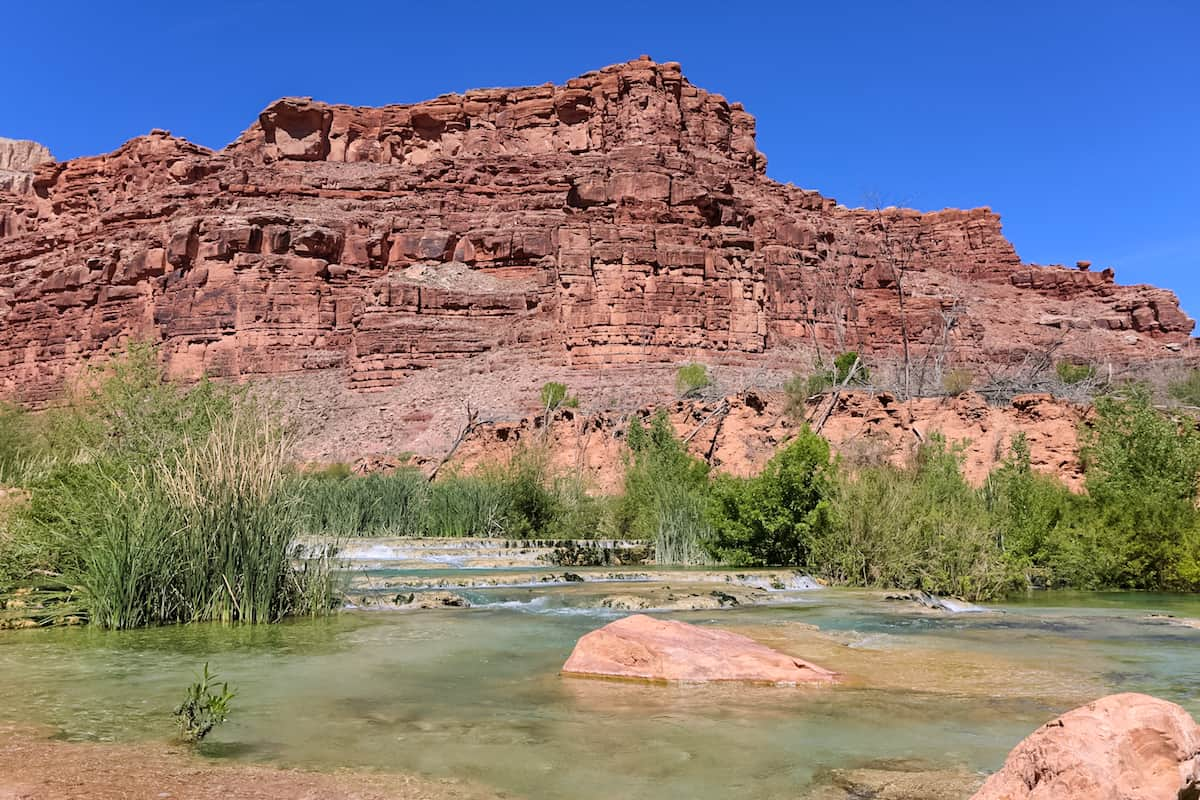 campground and Havasu Falls