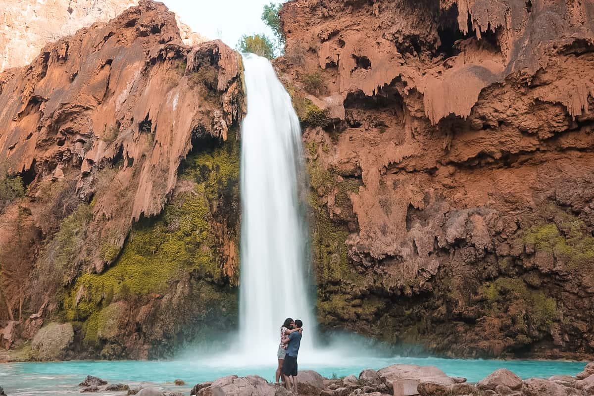 Havasu Falls Couple