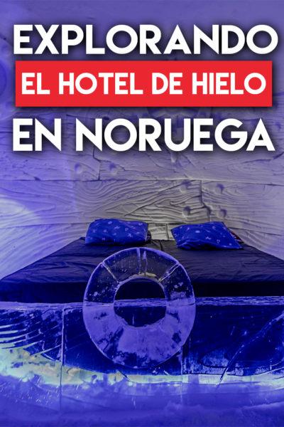 Explorando el hotel de hielo en Noruega