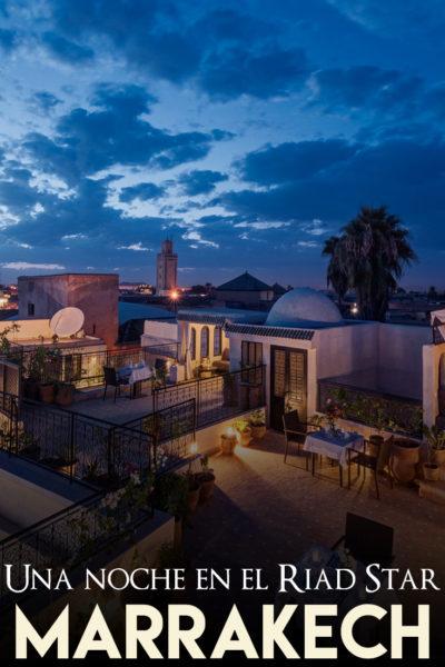 Experiencia de una noche en el Riad Star en Marrakech