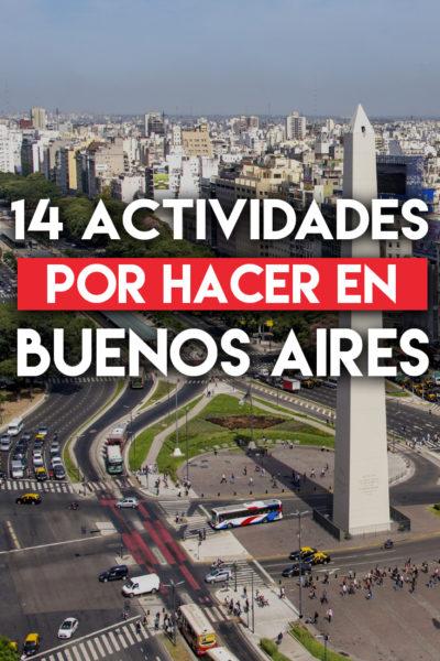14 actividades por hacer en Buenos Aires