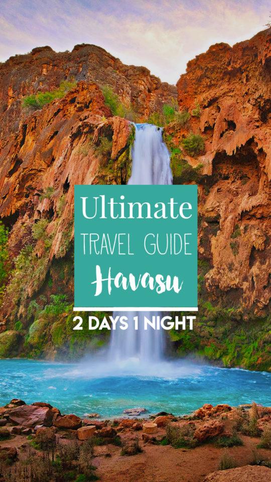 2 days 1 night Havasu Falls Arizona
