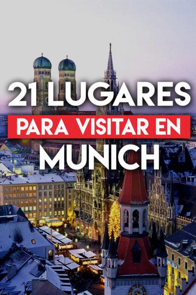 21 Lugares que debes visitar en Munich