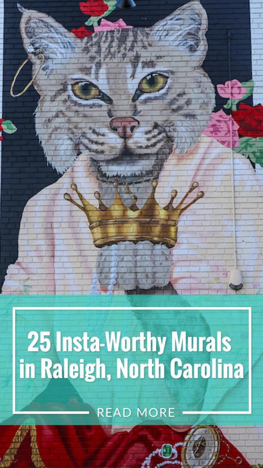 25 Insta-Worthy Murals in Raleigh, North Carolina