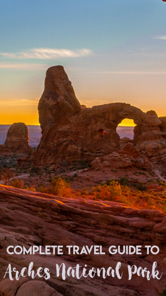 Travel Guide Arches NP