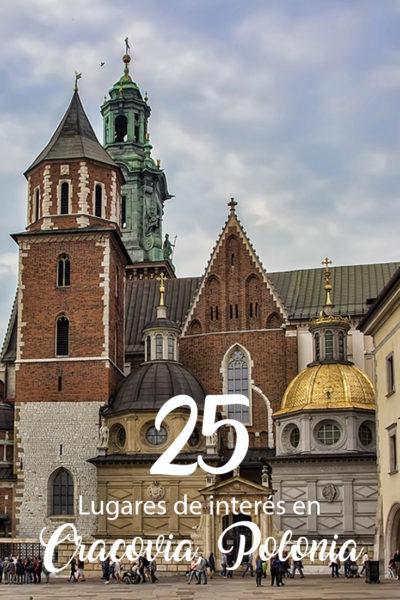 25 Lugares que visitar en Cracovia