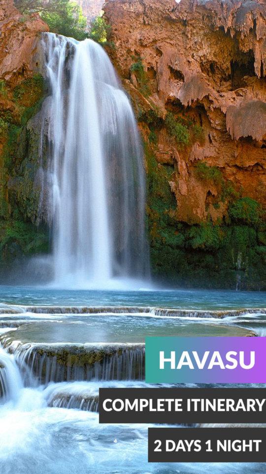 2 days 1 night Havasu Falls