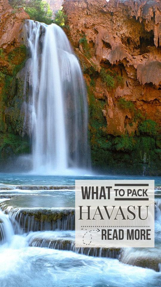 Havasu Pack What to pack