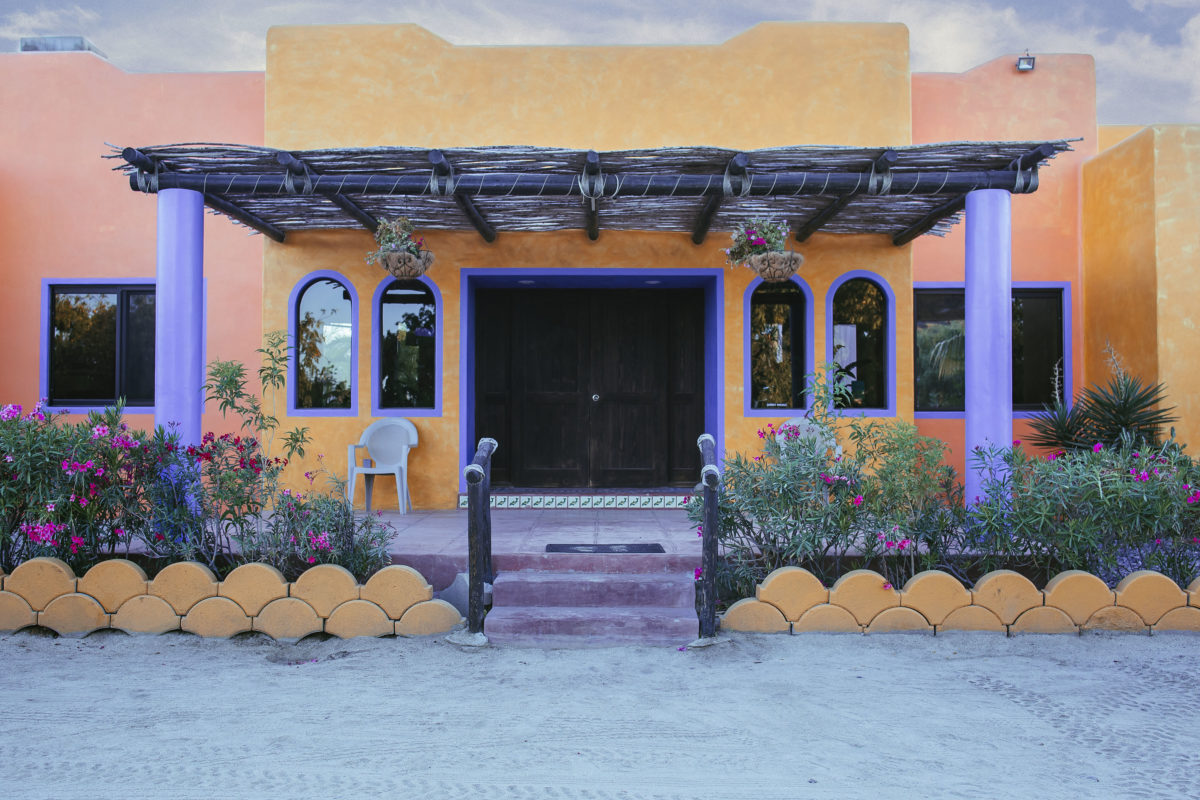 A quiet stay at Hotel Los Pescadores, Los Barriles, México