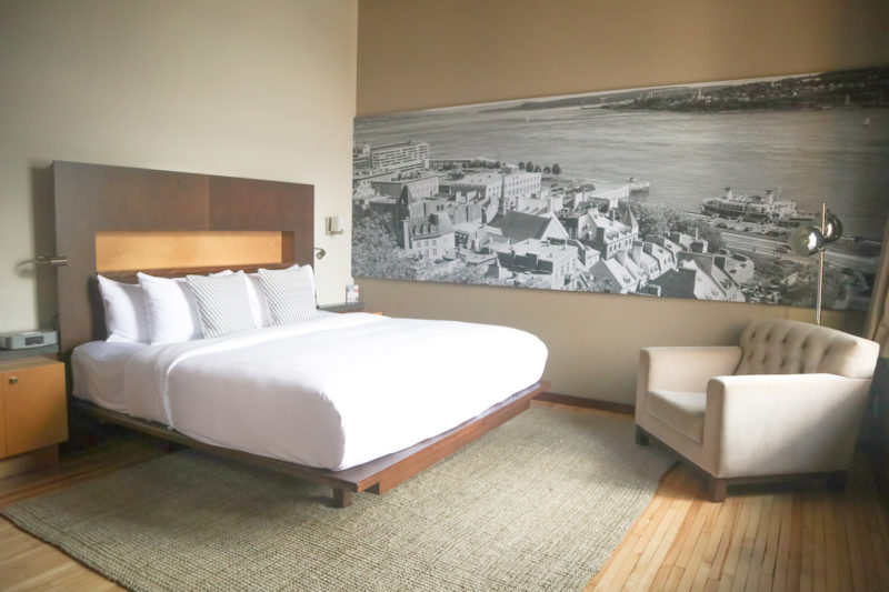 A Complete Review of Our Stay at The Boutique Hotel Le Saint Pierre in the heart of Old Quebec City