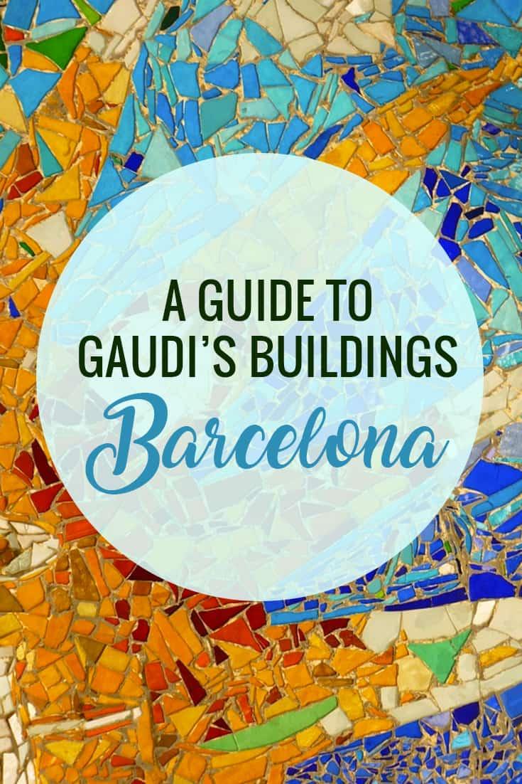 The Best Buildings of Gaudi en Barcelona