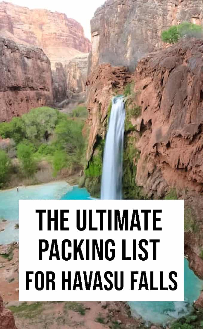 The Ultimate Packing List for Havasu Falls