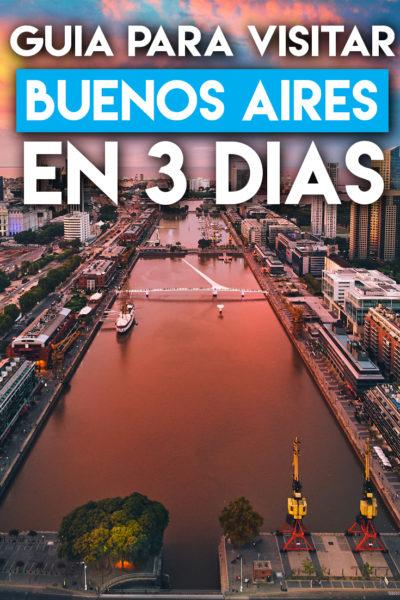 Guía para visitar Buenos Aires en tres días