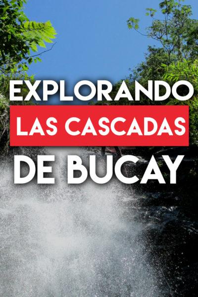 Explorando las cascadas de Bucay