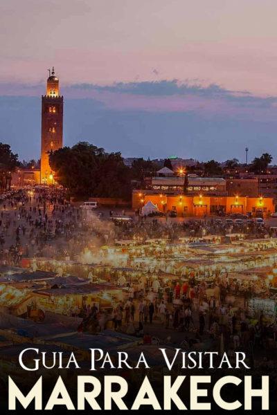 Guia para visitar Marrakech