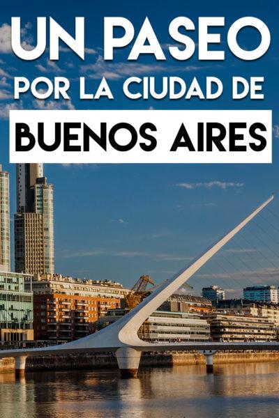 Un paseo por la ciudad de Buenos Aires