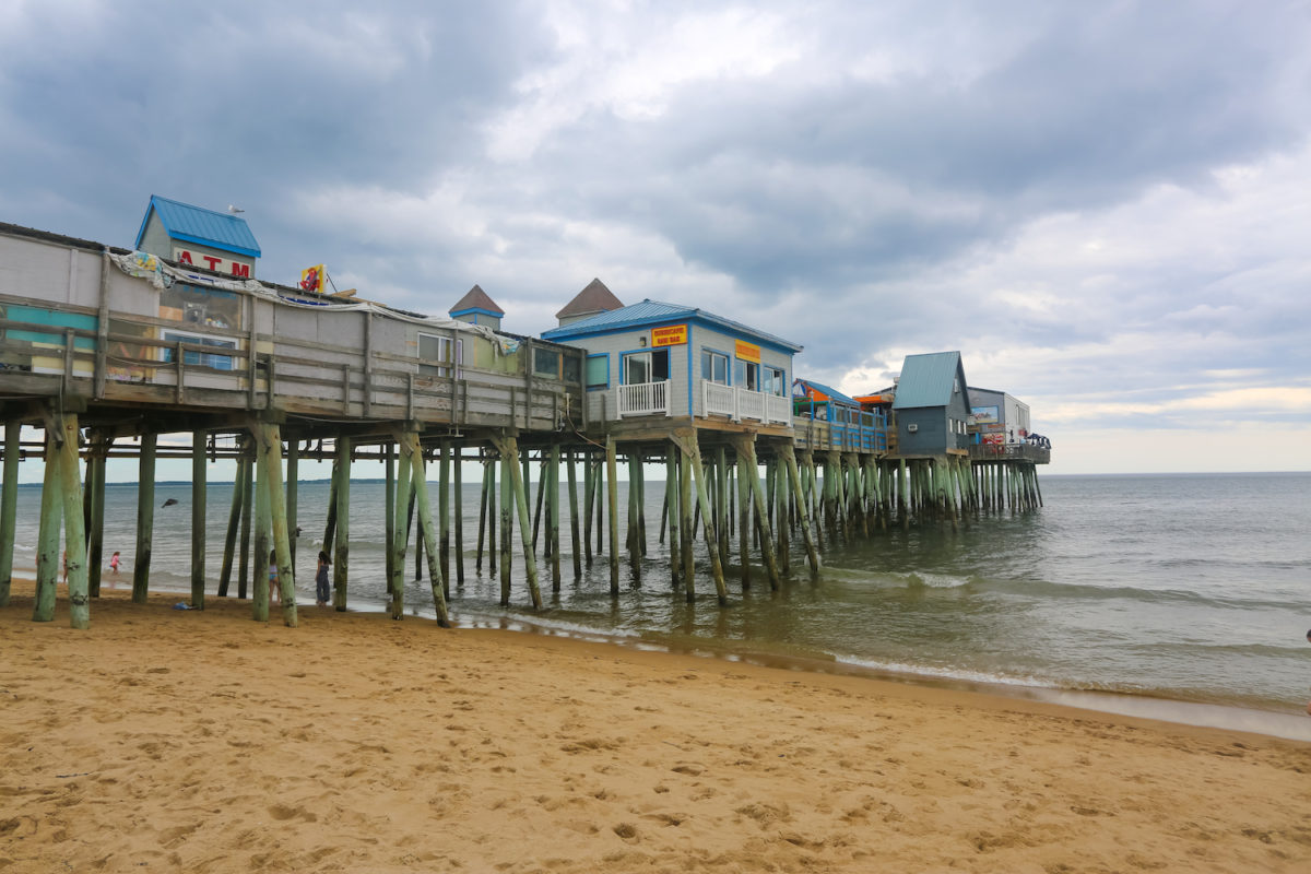 Old Orchard Pier Beach