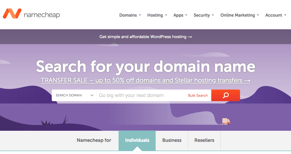 Buy a domain and a web hosting