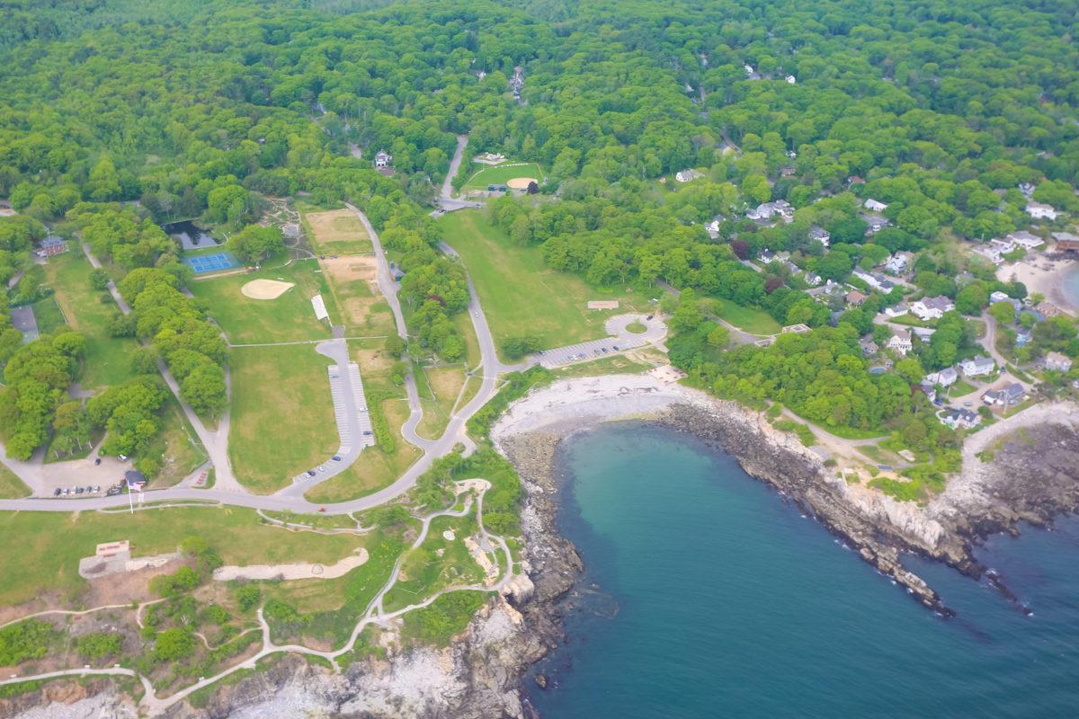 The Maine Beaches-The Maine Beaches Morning scenic flight