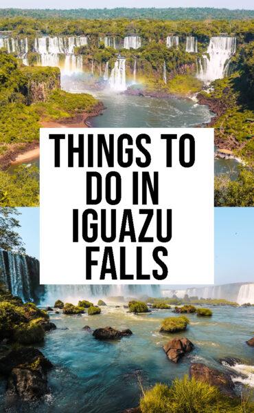 things to do in Iguazu Falls