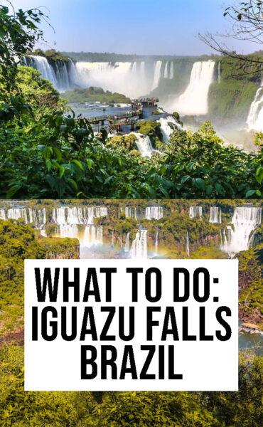 what to do in Iguazu falls brazil