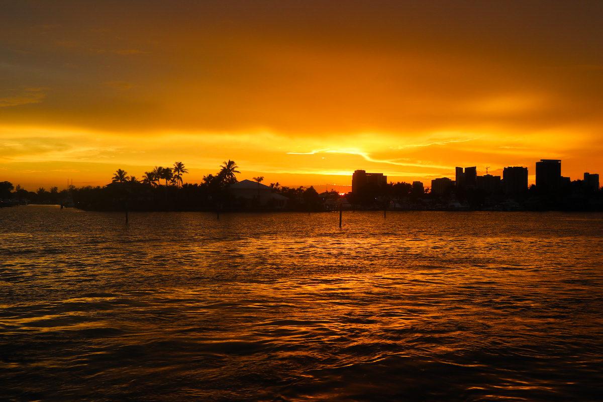 Spirit of Lauderdale Sunset