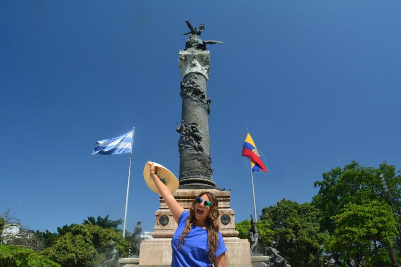 Columna de Los proceres Guayaquil