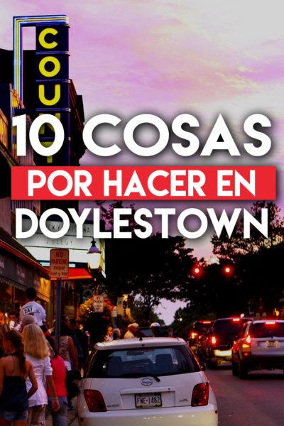 10 cosas por hacer en Doylestown, Pensilvania