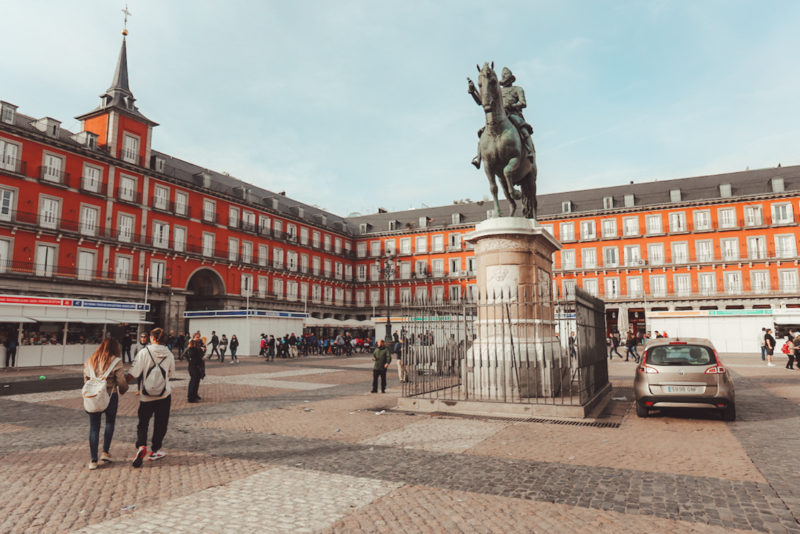 Things To see in Madrid: Plaza Mayor