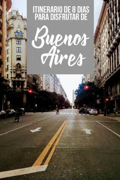 Itinerario de las mejores cosas que hacer en Buenos Aires