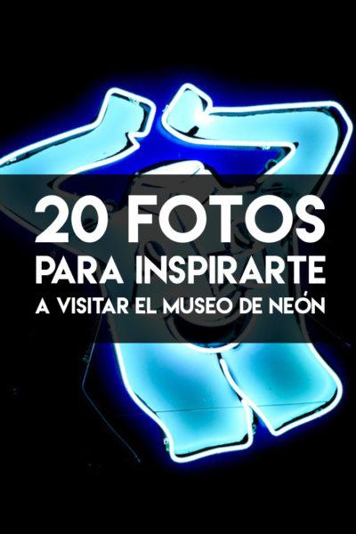 20 fotos del museo de neón en Las Vegas, Nevada