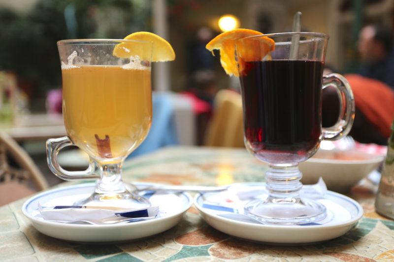 Pilsen Beer and Hot Wine