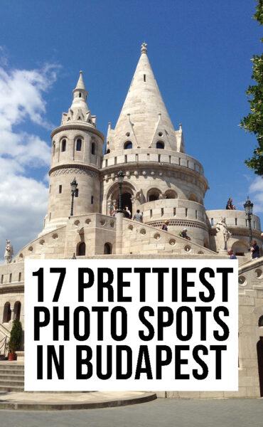 17 prettiest photo spots in Budapest