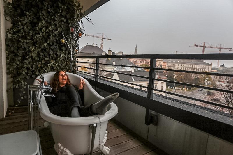 25Hours Hotel Vienna Balcony