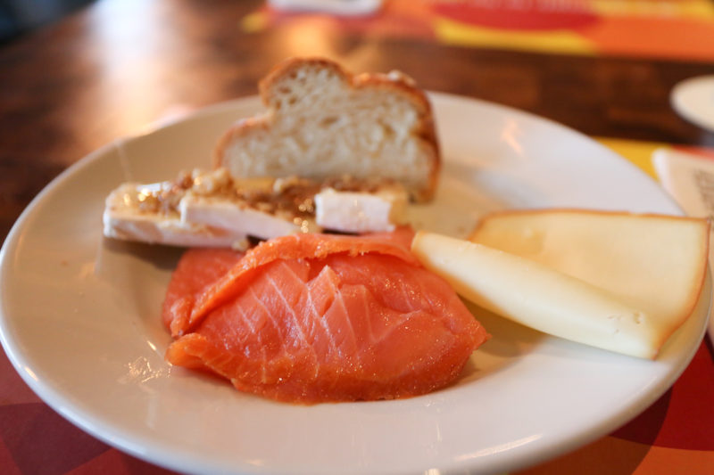 25Hours Hotel Vienna lox and cheese