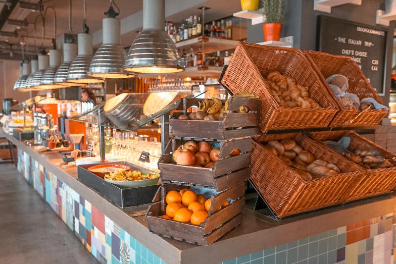 25Hours Hotel Vienna breakfast