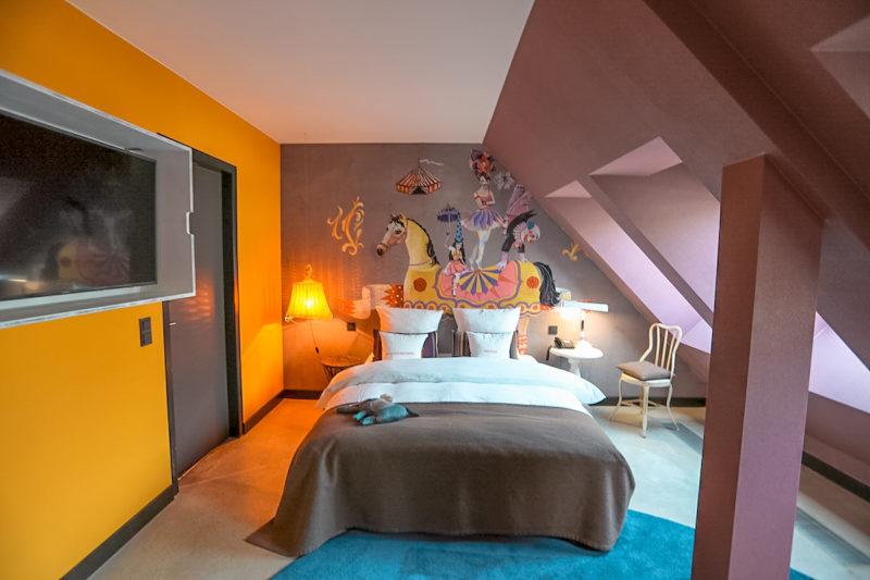 25Hours Hotel Vienna bedroom