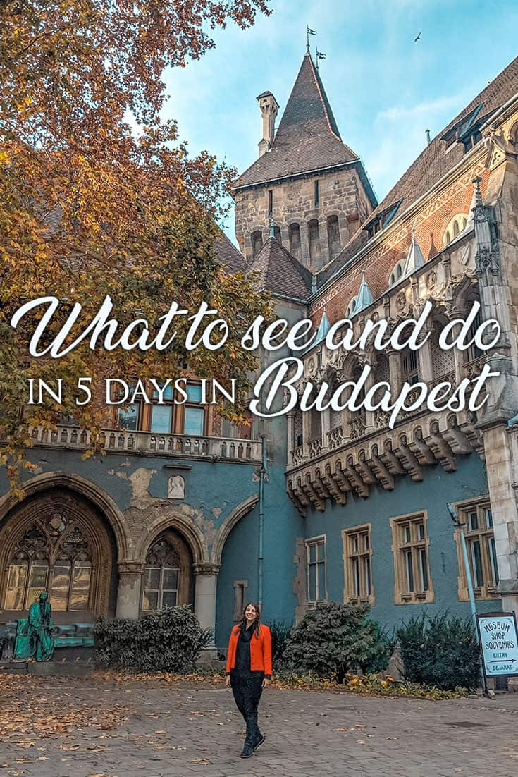 5 days Budapest: There are plenty of things to do in Budapest and there's a lot no matter what activities you like! Here's the top attractions to start with!