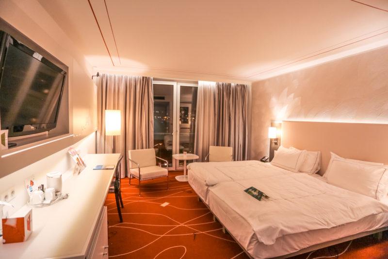 Art'Otel Budapest bedroom