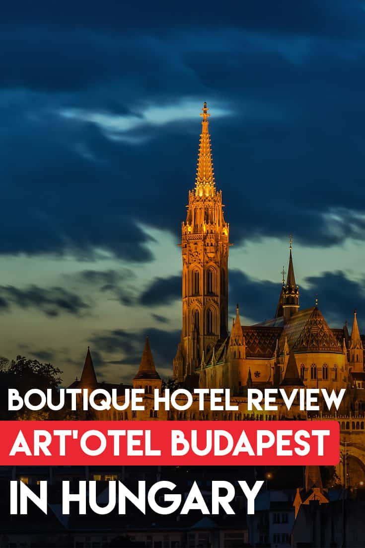 The best hotel to stay in Budapest is the Artotel. It is close to the main attractions in Buda and close to the metro station.