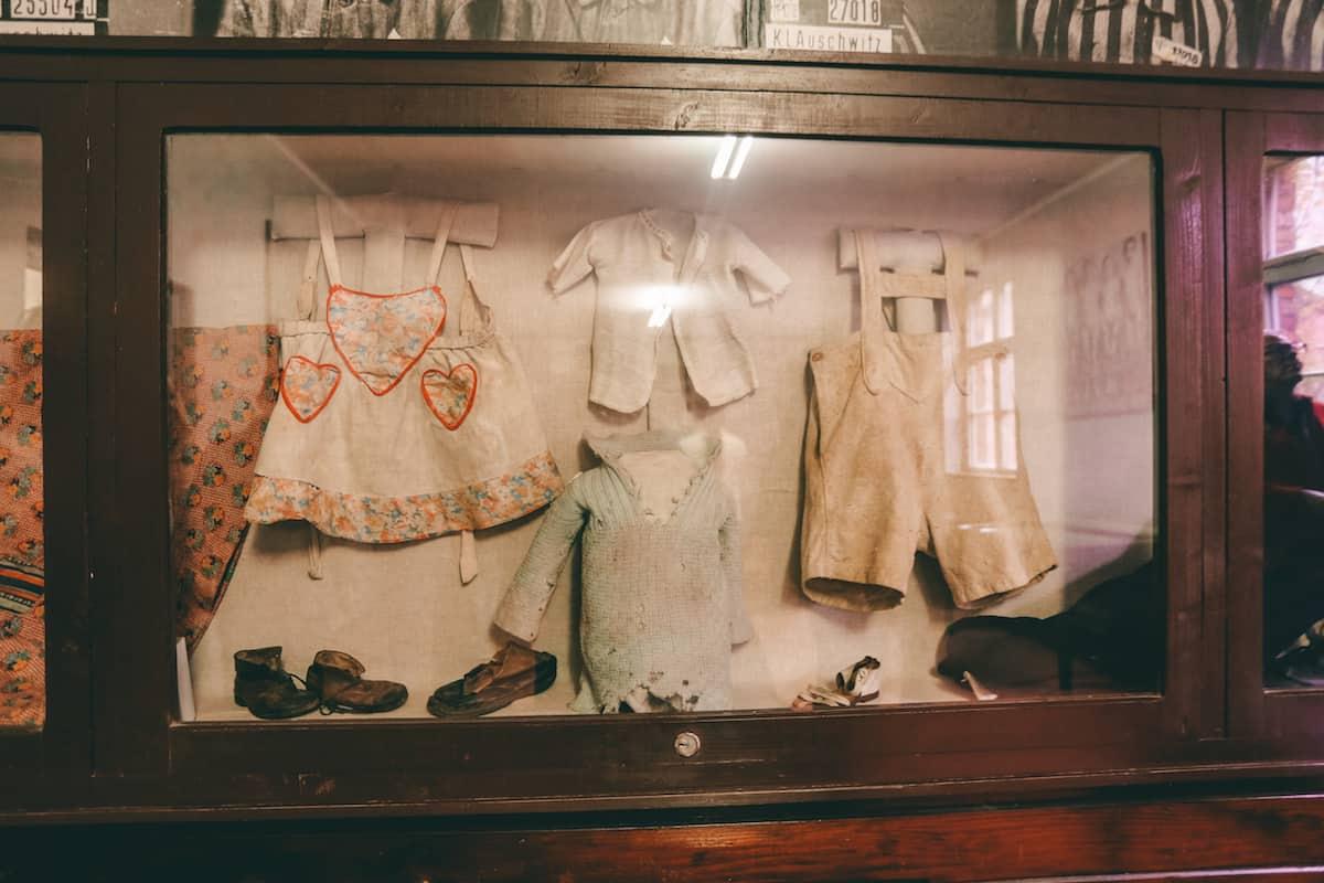 Birkenau Camp baby cloth