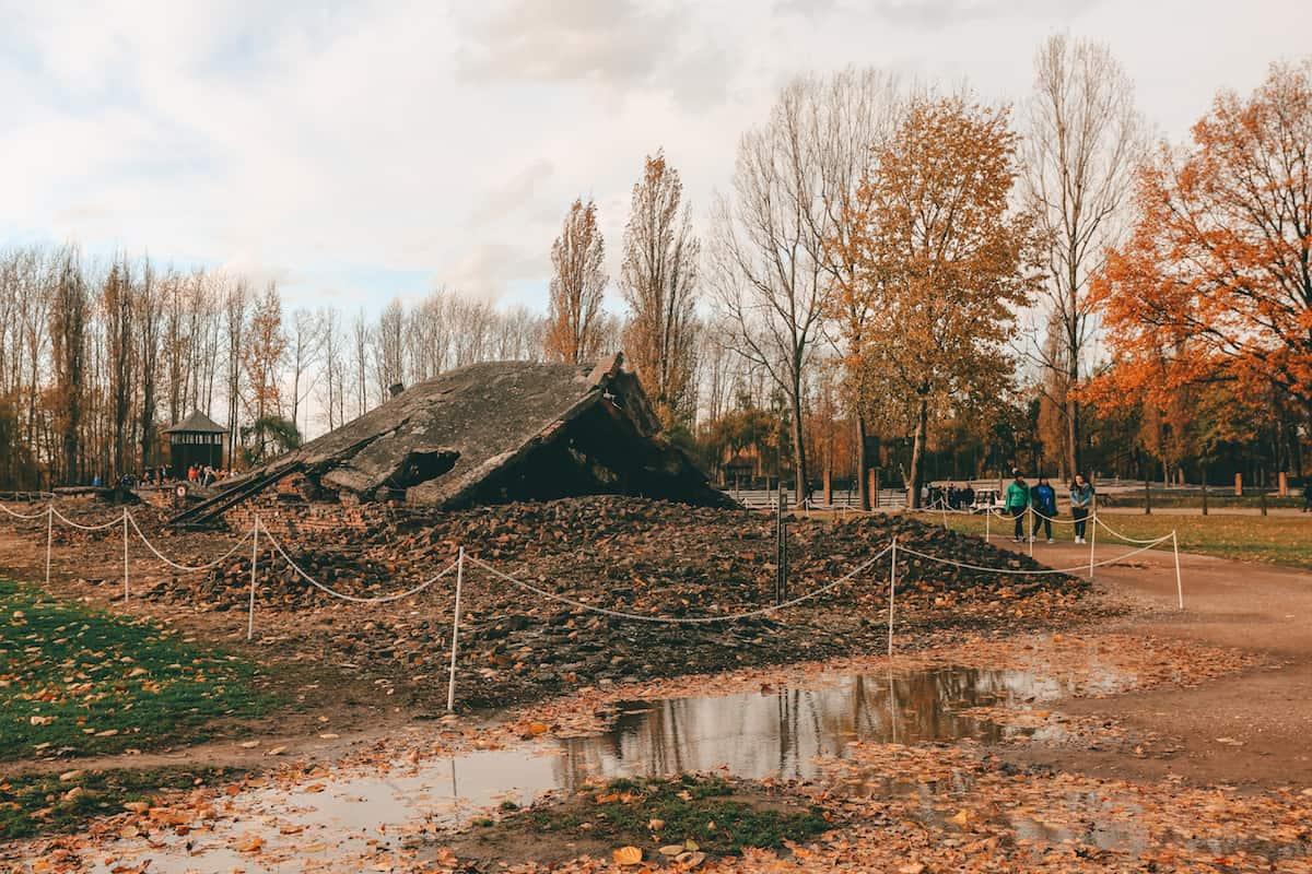Birkenau Camp grounds