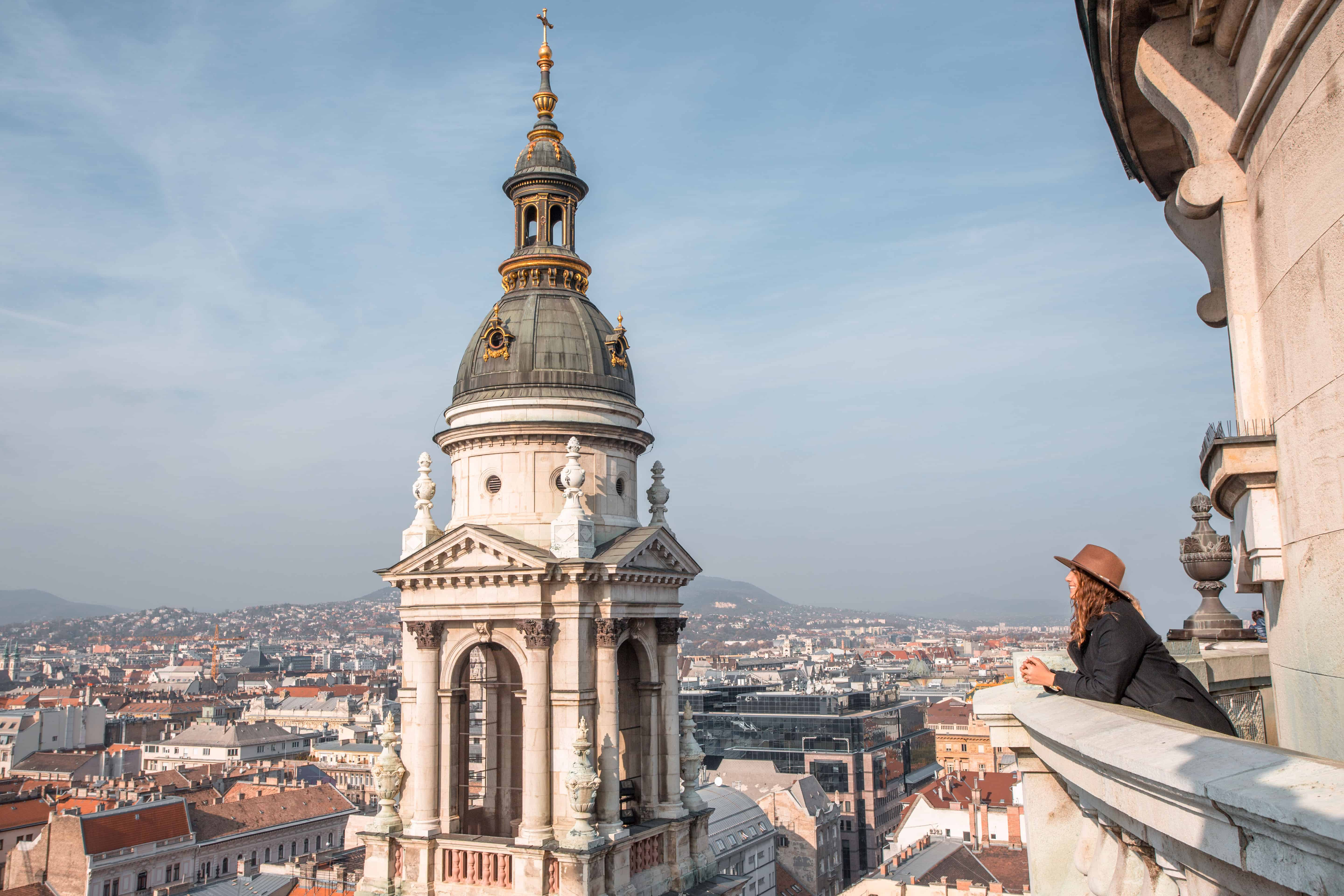 St. Stephen's Basilica Budapest view from the dome