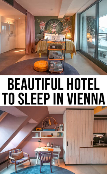 Beautiful hotel to sleep in Vienna