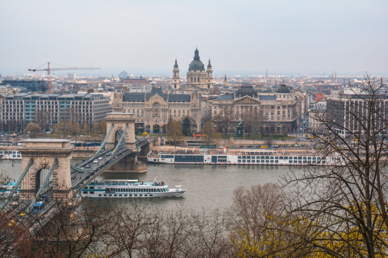 5 days in budapest: Beautiful view from the Buda Castle Complex
