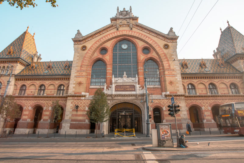The Best Instagram Spots In Budapest: Central Market Budapest